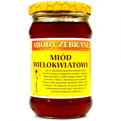 Miod wielokwiatowy / Multiflower Honey 400g   01035817661789  / [0.479]   Orzeszek