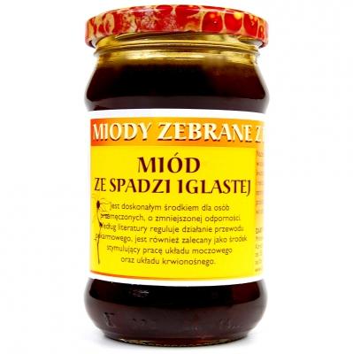 Miod spadz iglasta / Honeydew Cone Honey 400g   5906716529437  / [017]   Orzeszek