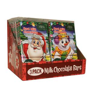 Santa & Snowman Chocolate 100g   01035817661215  / [0.101]   Baron Chocolatier