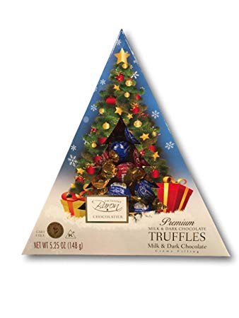 Christmas Tree Assorted Truffles Mix 148g   819077016735  / [0.100]   Baron Chocolatier