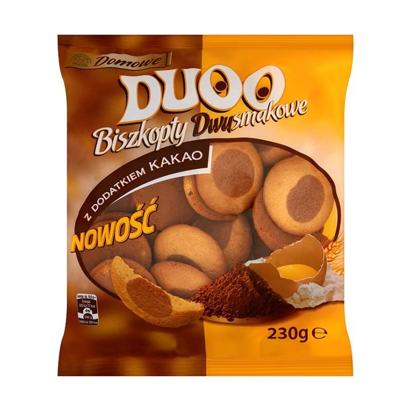 Domowe Duoo / Homemade Duo Biscuits 230g   5905784914961  / [505]   Delisana