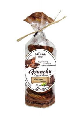 Grunchy Kakaowe Orkiszowo-owsiane /  Spelled and Oat Cocoa Spoon 180g   5903453004692  / [0.223]   Bio Ania-Ciastka Ekologiczne