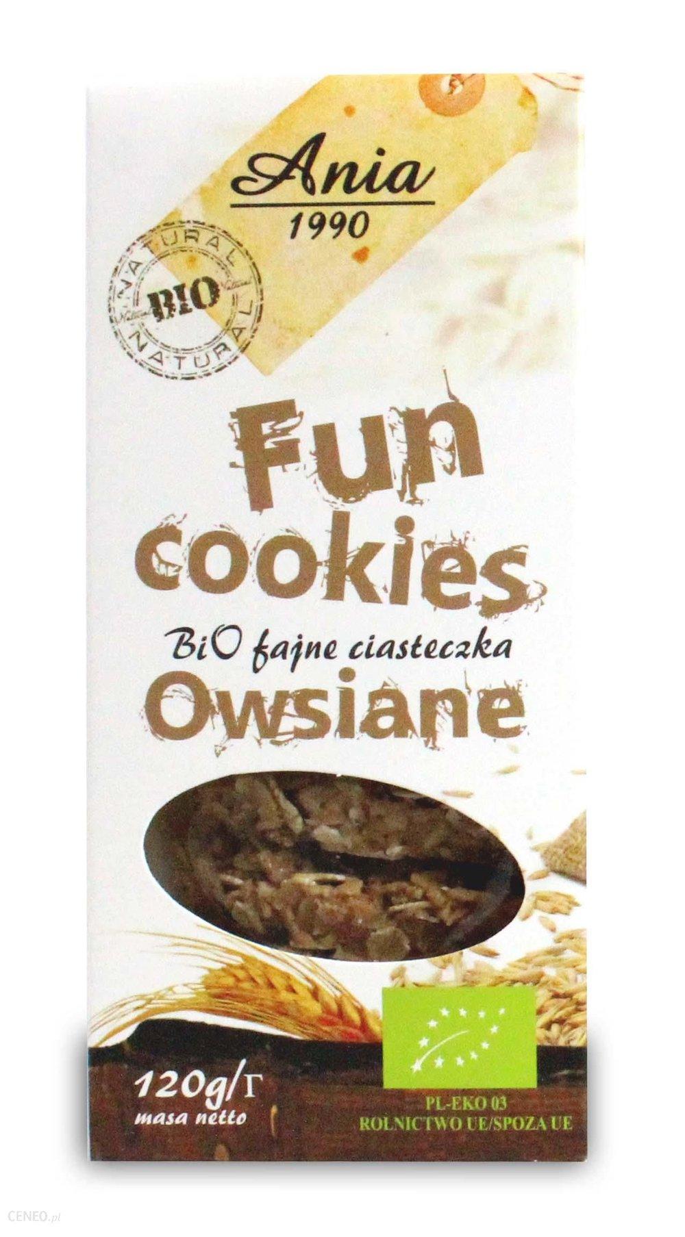 Ciasteczka / Cookies 120g   01035817661930  / [0.485]   Bio Ania-Ciastka Ekologiczne
