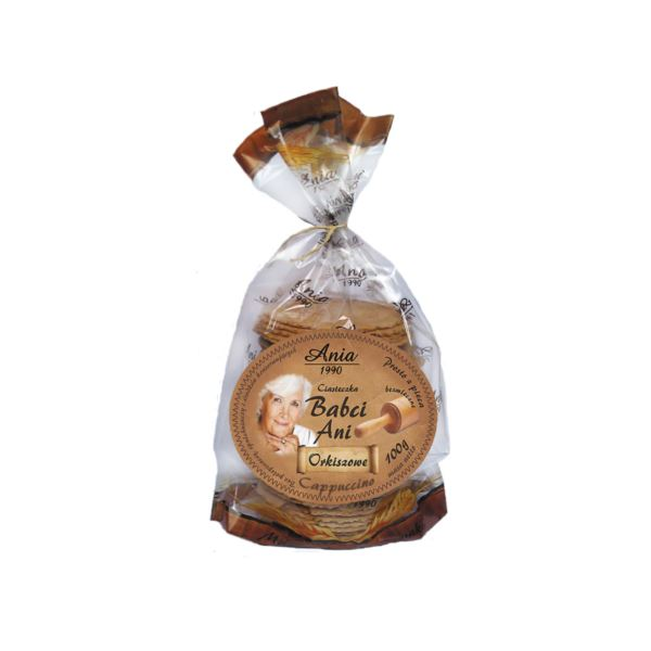 Ciasteczka Babci Cappuciono / Grandma's Cappucino Cookies 100g   5903453004593  / [0.227]   Bio Ania-Ciastka Ekologiczne