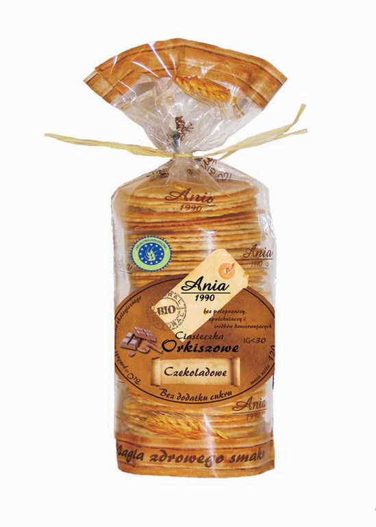 Ciasteczka Babci Kakao / Grandma's Cocoa Cookies 120g   5903453002254  / [0.231]   Bio Ania-Ciastka Ekologiczne