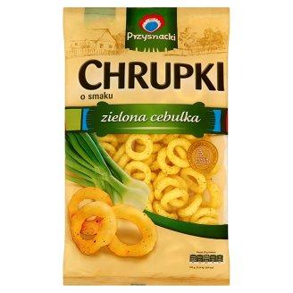 Chrupki Kukurydziane Zielona Cebulka / Green Onion Crisps 150g   5900073020293  / [648]   Przysnacki