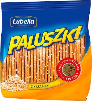 Z Sezamem/ Sesame Sticks 220g   5900049812570  / [636]   Paluszki - Lubella