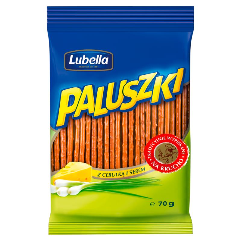 Z Cebulka i Serem / Onion & Cream Sticks 70g   5900049900536  / [634]   Paluszki - Lubella