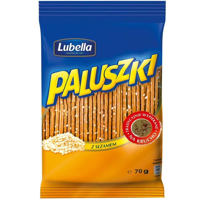 Z Sezamem / Sesame sticks 70g   5900049941256  / [633]   Paluszki - Lubella