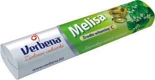 Dropsy Melisa- Verbena / Candies 32g   8585000209223  / [732]   Verbena-Dropsy