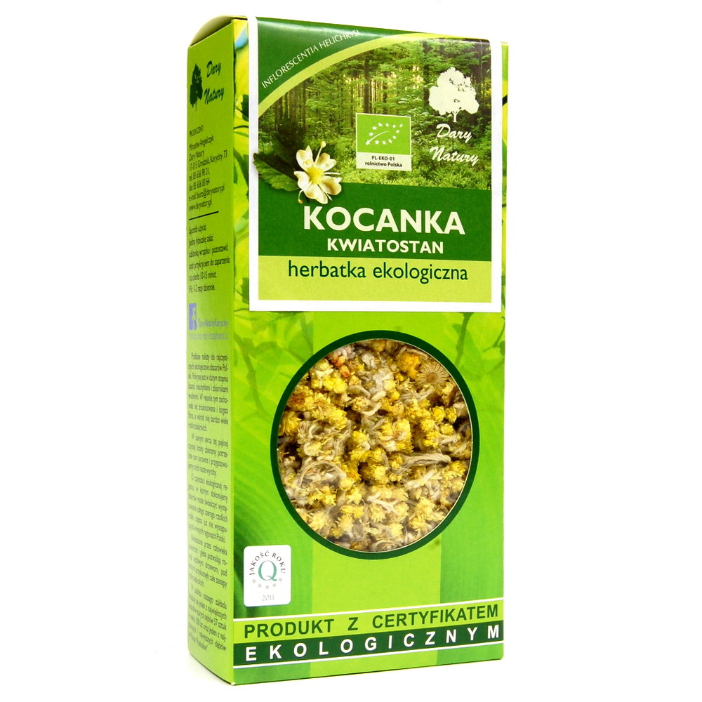 Kocanka kwiatostan Eko / Chamomile Tea 25g   5902741005038  / [0.429]   Lisciaste