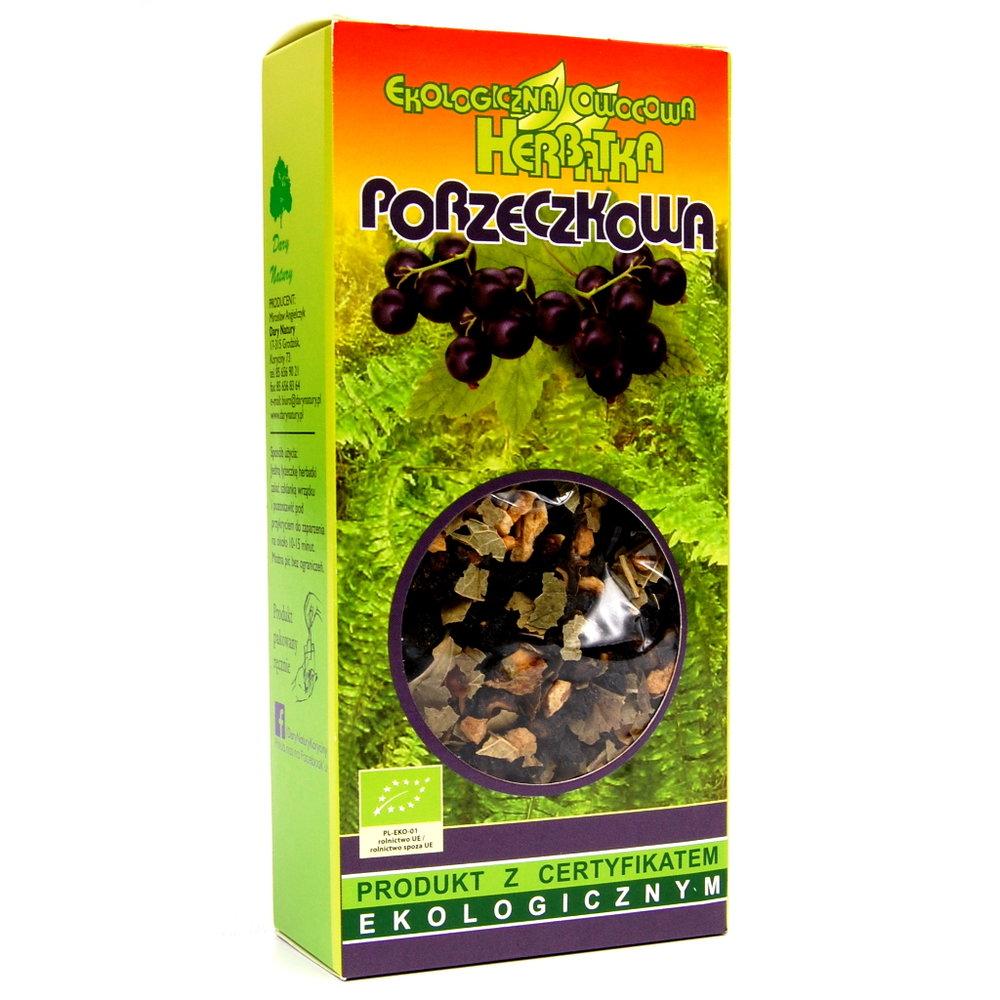 Czarna Porzeczka Eko / Black Currant Tea 100g   5902741000507  / [0.389]   Lisciaste