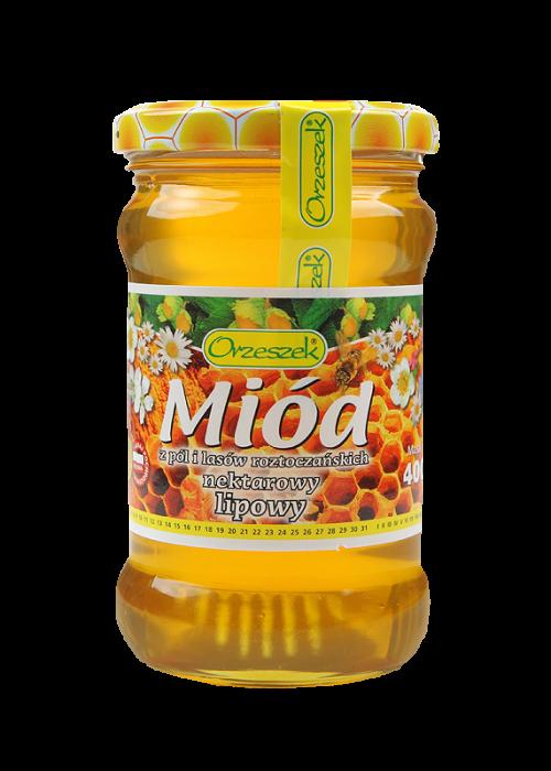 Miod z imbirem / Honey with Ginger 1kg   645175680086  / [A52]   Orzeszek