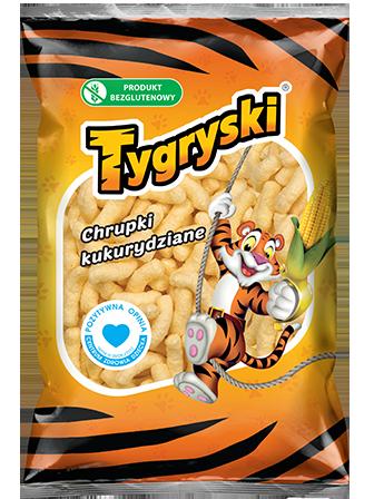 Chrupki Tygryski Rodzinne / Crunchy Corn Chips 300g   5908221100125  / [558]   Chrupki TBM-Tygryski
