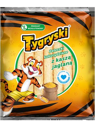 Paleczki Kukurydziane / Corn Sticks 60g   5908221101030  / [784]   Chrupki TBM-Tygryski