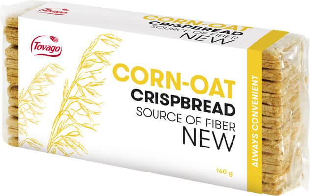 kukurydziano-owsiane/ Corn and oat crispbread 160g   5901534000977  / [778]   Tovago-Pieczywo Chrupkie