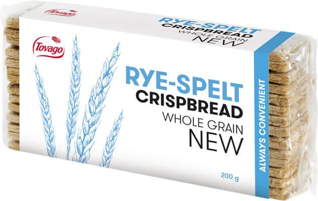 Zytnio-orkiszowe / Rye & Spelt Crisp Bread 200g   5901534000960  / [777]   Tovago-Pieczywo Chrupkie
