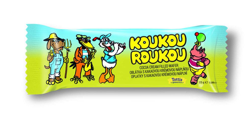 Koukou Roukou / Cream Wafer 25g   5201008417448  / [704]   Tottis