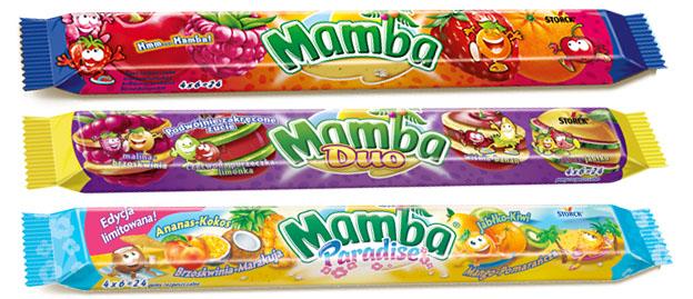 Guma mamba Duo-pasek 106g   4014400916829  / [765]   Storck