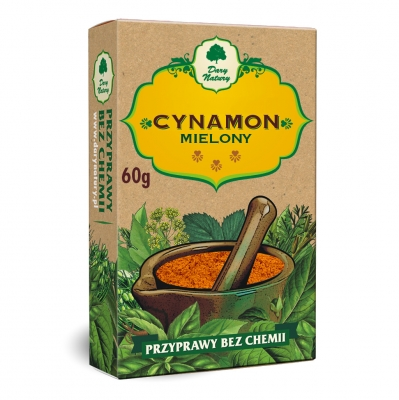 Cynamon Cejlonski / Ceylon Cinnamon 60g   5902741004543  / [821]   Dary Natury
