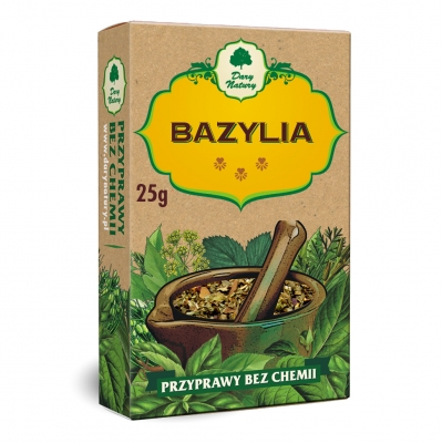 Bazylia / Basil 25g   5902741001436  / [432]   Dary Natury