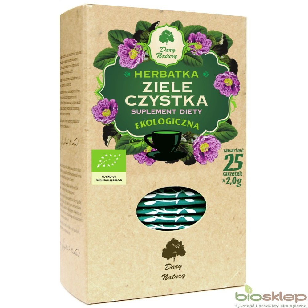 Czystek ziele / Herbal Cleanse Tea 50g   5902741008114  / [926]   Lisciaste