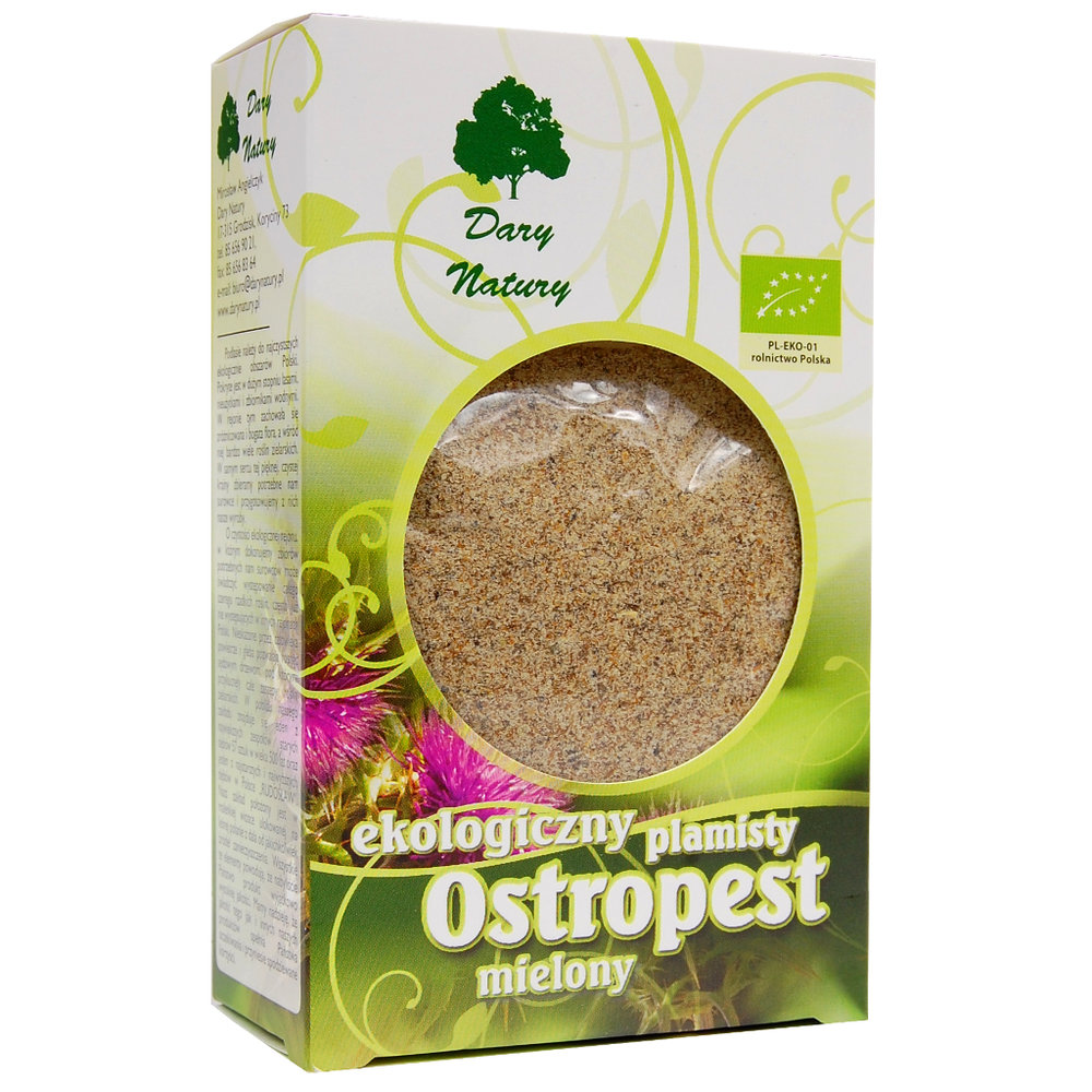 Ostropest plamisty mielony / Milk Thistle Powder 100g   5902741009890  / [950]   Lisciaste