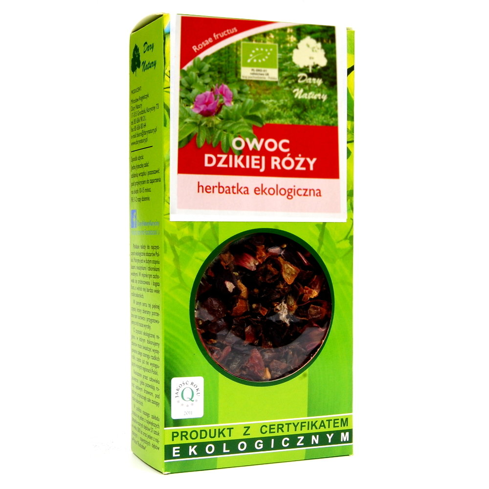 Owoc rozy / Fruit Rose Tea 50g   5902741000262  / [0.477]   Lisciaste