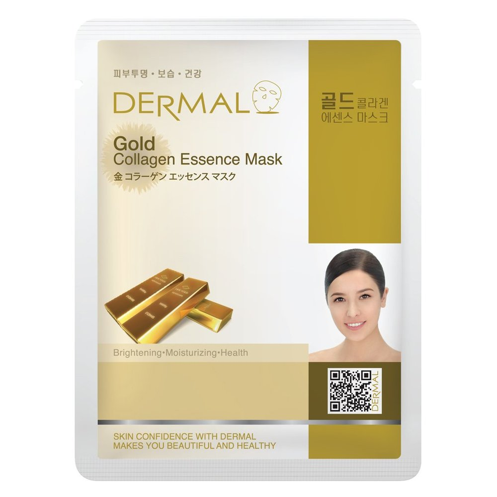 Gold Collagen Essence Face Mask   000  / [A10]   Dermal
