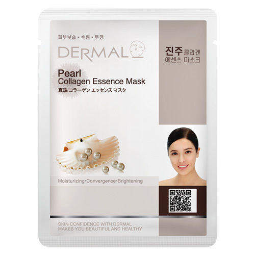 Pearl Collagen Essence Face Mask   000  / [A12]   Dermal