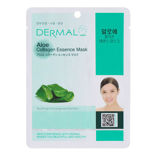 Aloe Collagen Essence Face Mask   000  / [A11]   Dermal
