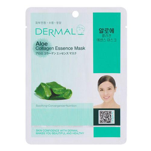 Aloe Collagen Essence Face Mask   000  / [A11]   Dermal