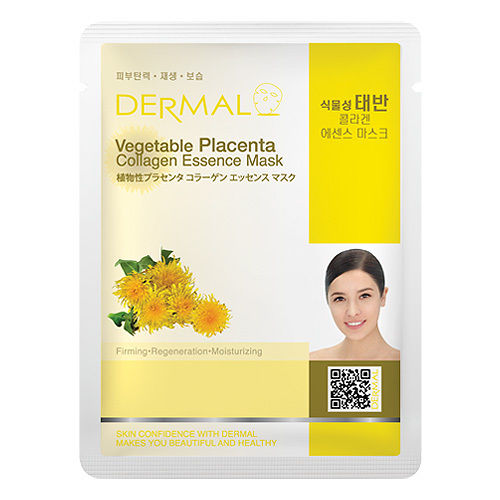 Vegetable Placenta Collagen Essence Face Mask   000  / [A29]   Dermal