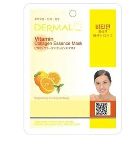 Vitamin Collagen Essence Face Mask   000  / [A32]   Dermal
