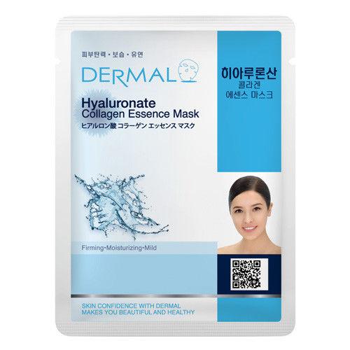 Hyaluronate Collagen Essence Face Mask   000  / [A34]   Dermal