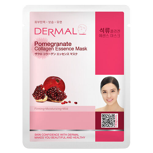 Pomegranate Collagen Essence Face Mask   000  / [A14]   Dermal