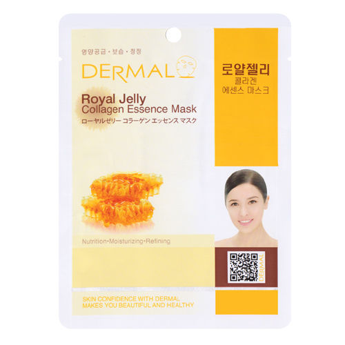 Royal Jelly Collagen Essence Face Mask   000  / [A156]   Dermal