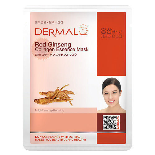 Red Ginseng Collagen Essence Face Mask   000  / [A28]   Dermal