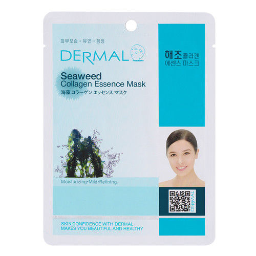 Seaweed Collagen Essence Face Mask   000  / [A35]   Dermal