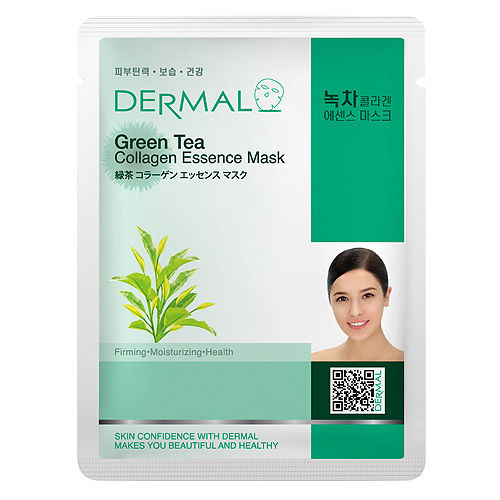 Green Tea Collagen Essence Face Mask   000  / [A37]   Dermal