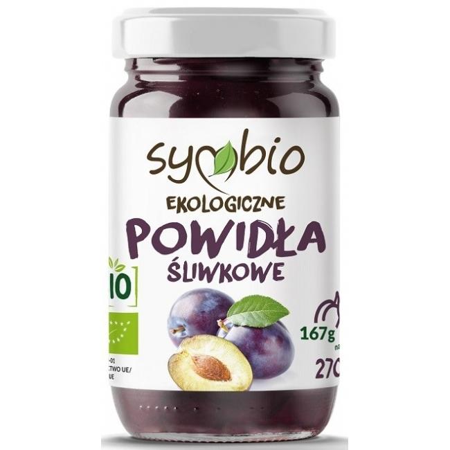 Powidla Sliwkowe 240g   000  / [261]   Symbio-Ekologicze bez dodatku cukru