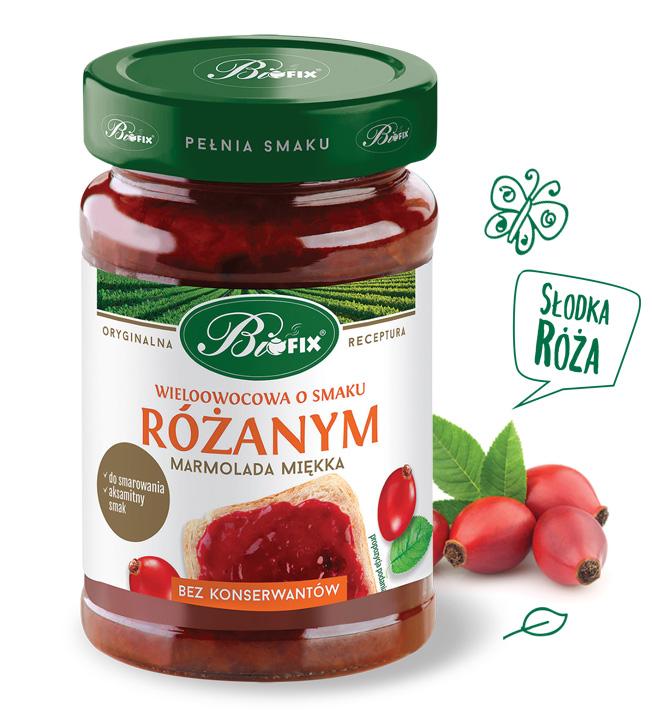 Marmolada Rozana 290g   000  / [0.361]   Bifix-Dzemy Niskoslodzone
