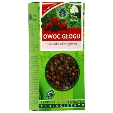 Glog owoc Eko / Hawthorn Fruit Tea 100g   5902741004208  / [980]   Lisciaste