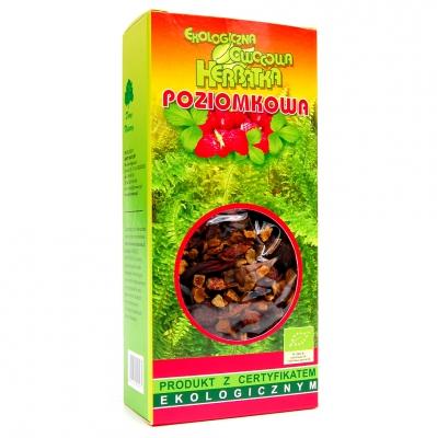 Herbata poziomkowa Eko / Wild Strawberry Tea 100g   5902741000972  / [994]   Lisciaste