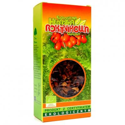 Herbata rokitnikowa Eko / Buckthorn Tea 100g   5902741000309  / [995]   Lisciaste