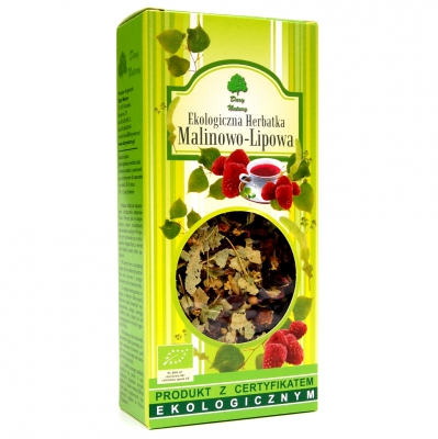 Lipowo-malinowa / Raspberry Leaf Tea 80g   5902741001054  / [839]   Lisciaste