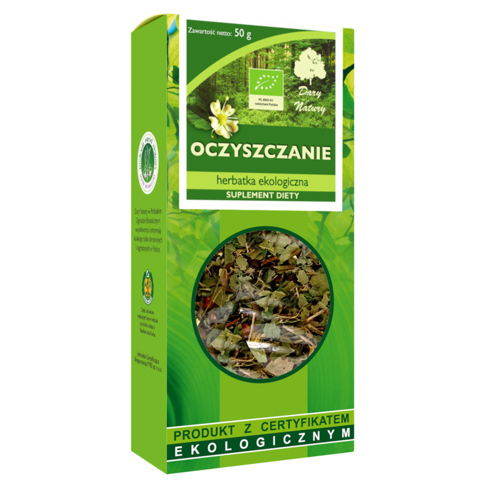 Herbata Odkwaszajaca Eko / Anti-Acid Tea 50g   5902741000453  / [997]   Funkcyjne Herbaty Lisciaste