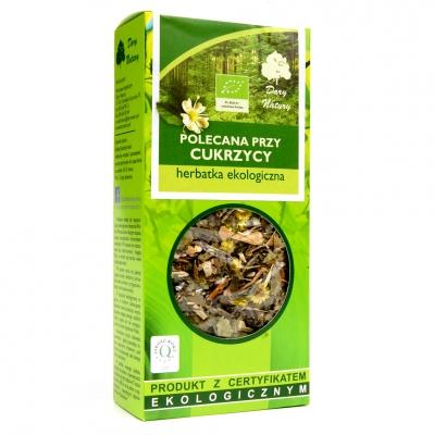 Herbata polecana przy cukrzycy Eko / Tea for Diabetics 50g   5902741005212  / [932]   Funkcyjne Herbaty Lisciaste