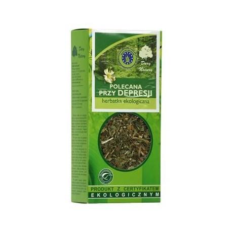 Herbata polecana przy depresji Eko / Tea for Depression 50g   5902741005137  / [933]   Funkcyjne Herbaty Lisciaste