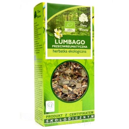 Herbata przeciwreumatyczna Lumbago Eko / Anti-rheumatic Tea 50g   5902741005069  / [938]   Funkcyjne Herbaty Lisciaste